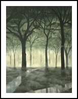 Magic Mood, Land Art,Paintings, Fine Art,Realism,Surrealism, Figurative,Land Art,Landscape,Mythical,Spiritual, Canvas,Oil,Painting, By Richard Michael Ferrugio