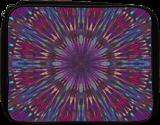 MANDALA IN PURPLE AND BLUE TONES, Digital Art / Computer Art, Abstract,Hallucinogens, Composition,Decorative, Digital, By Monica Amorim Gutmann