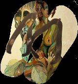 Manifolds, Paintings, Surrealism, Grotesque, Acrylic,Canvas,Ink,Oil,Pastel,Stone, By Eka Goderdzi Rukhadze