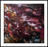 MARBLE-PURPLISH, Paintings, Abstract, Modernism, Avant-Garde, Nature, Acrylic, Canvas, By HSIN LIN