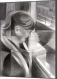Marijke Akkers-Kersten - 06-11-17, Drawings / Sketch, Abstract,Cubism,Fine Art,Impressionism,Realism, Composition,Figurative,Inspirational,People,Portrait, Pencil, By Corne Akkers