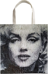 Marilyn - Let's go (n.448), Paintings, Abstract, People,Portrait, Acrylic, By Alessio Mazzarulli