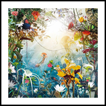 Marine Dream, Digital Art / Computer Art,Photography, Fine Art,Surrealism, Animals,Botanical,Floral,Landscape,Nature, Digital,Photography: Photographic Print, By Jesper Krijgsman