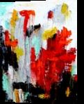 Matador, Paintings, Abstract, Conceptual, Oil, By Sal Panasci