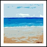 Maui No Ka Oi, Paintings, Abstract, Tropical, Oil, By fred wilson