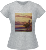 Mauna Lani Sunset, Paintings, Impressionism, Machnine Forms, Oil, By Will Bateman