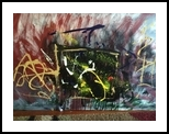 Mercury Rising, Paintings, Abstract,Expressionism, Fantasy,Landscape, Acrylic,Canvas, By Kenneth E Parker