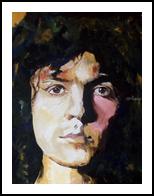 Metal Guru, Paintings, Impressionism, Portrait, Acrylic, By broonzy williams