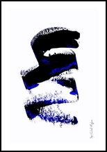 Metusda Bleue, Paintings, Abstract,Minimalism, Avant-Garde, Acrylic, By Sévi Cabell Maghee