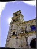 Mexican Village Church, Digital Art / Computer Art, Modernism, Cityscape, Digital, By Carolyn S Allen