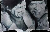 Mick & Keith, Drawings / Sketch, Fine Art, Music, Pencil, By Paula D Soesbe