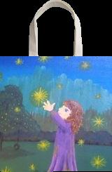Midnight Magic, Paintings, Fine Art, Children, Acrylic,Canvas, By Loretta Hon