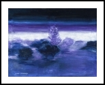 Misty forest, Paintings, Fine Art, Landscape, Oil,Painting, By Claudia Luethi alias Abdelghafar