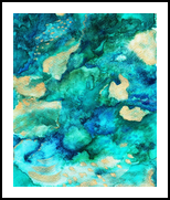 Mixwhater, Paintings, Abstract, Nature, Spray Paint,Watercolor, By SHEILA ZAMPERINI Dias