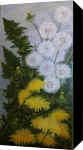 Mniszek- mlecz ( Mnisek lekarski), Paintings, Realism, Floral, Acrylic, By Władysława Marcinkowska Fedasz