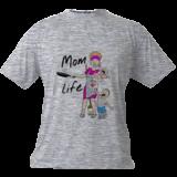 Mom Life, Illustration, Minimalism, Cartoon, Pencil, By Tim Addison