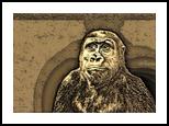 Monkey See, Digital Art / Computer Art, Realism, Animals,Figurative,Nature, Digital, By Monica Amorim Gutmann