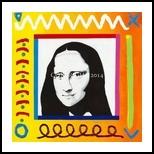 Monochromatic Lisa, Paintings, Pop Art, Portrait, Acrylic, By Curtis Dickman
