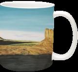Monument Valley, Paintings, Realism, Landscape, Oil, By Claudia Luethi alias Abdelghafar