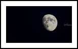 Moon, Photography, Fine Art, Nature, Photography: Stretched Canvas Print, By Jim Stewart