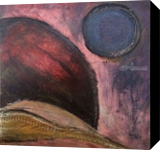Moon Scape, Paintings, Abstract, Celestial / Space, Acrylic, By Kenneth E Parker