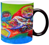 morning glory, Land Art,Paintings, Commercial Design,Expressionism,Pop Art, Fantasy, Canvas, By sanjay g punekar