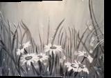 Morning Mist, Paintings, Modernism, Botanical, Acrylic, By Lucyanne Driusi Terni