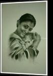 mother and child, Chalk, Fine Art, Anatomy, Charcoal, By jitesh vijay patil