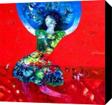 mother earth Dream, Paintings, Abstract,Existentialism,Expressionism,Fauvism, Environmental art,Fantasy,Figurative, Canvas, By sanjay g punekar