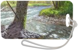Mountain Stream, Paintings, Photorealism,Realism, Landscape,Nature, Canvas,Oil, By Dejan Trajkovic