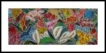 My Garden, Decorative Arts,Paintings, Abstract,Fine Art,Pop Art, Composition,Decorative,Floral,Nature, Acrylic,Canvas, By Gerardo La Porta