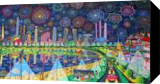 naive paintings art by raphael perez israeli painter, Paintings, Modernism, Landscape, Acrylic, By raphael perez