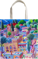 naive paintings folk artist painter urban landscape paintings raphael perez israeli artist, Architecture,Folk Art,Paintings, Fauvism,Fine Art,Primitive,Realism, Architecture,Children,Figurative,Landscape, Acrylic,Canvas, By raphael perez