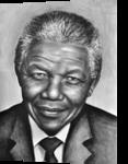 Nelson Mandela, Drawings / Sketch, Realism, Figurative, Oil, By Stefan Pabst