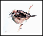 Nesting, Paintings, Realism, Animals, Painting, By William Clark