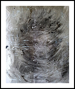 Never yours -03- (n.413), Paintings, Abstract, People,Portrait, Acrylic, By Alessio Mazzarulli