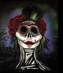 Night Of The Dead, Paintings, Fine Art, Conceptual, Acrylic, By adam santana