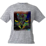 Night Owl, Digital Art / Computer Art, Abstract, Animals, Digital, By Joshua Bindseil