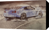 nissan GT, Drawings / Sketch,Graphic,Illustration,Pai ntings, Fine Art,Realism, Machnine Forms, Painting, By Oleg Kozelskiy