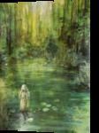 Nixie, Paintings, Surrealism, Fantasy, Acrylic, By Marta Kuźniar