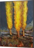 NOVEMBER TALE, Paintings, Modernism, Landscape, Acrylic, By Emilia Milcheva