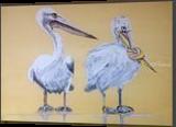 Now, shut up, Paintings, Fine Art, Cartoon, Acrylic, By broonzy williams