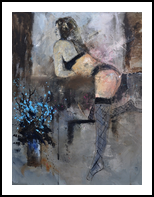 nude 454170, Paintings, Impressionism, Erotic, Canvas, By Pol Henry Ledent