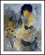 nude 455140, Paintings, Impressionism, Decorative, Canvas, By Pol Henry Ledent