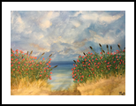 Ocean Breeze, Land Art, Fine Art, Landscape, Acrylic,Painting, By jennifer thuotte