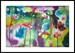 Oh! What A beautiful Morning, Paintings, Abstract, Floral, Ink, By Lesley Anne Cornish