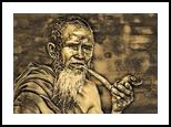 Old Man with Pipe, Digital Art / Computer Art, Realism, Decorative,Figurative,People,Portrait, Digital, By Monica Amorim Gutmann
