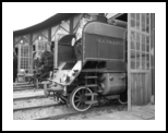 Old steam trains in depot 08485t1, Photography, Photorealism,Realism, Conceptual,Daily Life,Documentary,Environmental art,Historical, Photography: Stretched Canvas Print, By Ksavera Art