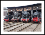 Old steam trains in depot 08496, Photography, Futurism,Photorealism,Realism, Cityscape,Documentary,Machnine Forms, Photography: Stretched Canvas Print, By Ksavera Art