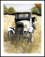 Old Timer, Paintings, Realism, Still Life, Painting, By William Clark